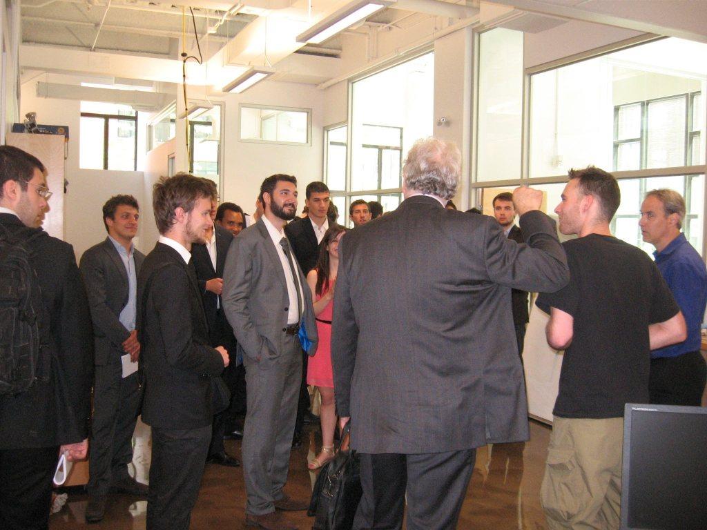 Accueil de 31 étudiants de Paris-Tech (ingénierie de Paris) de passage au Centech