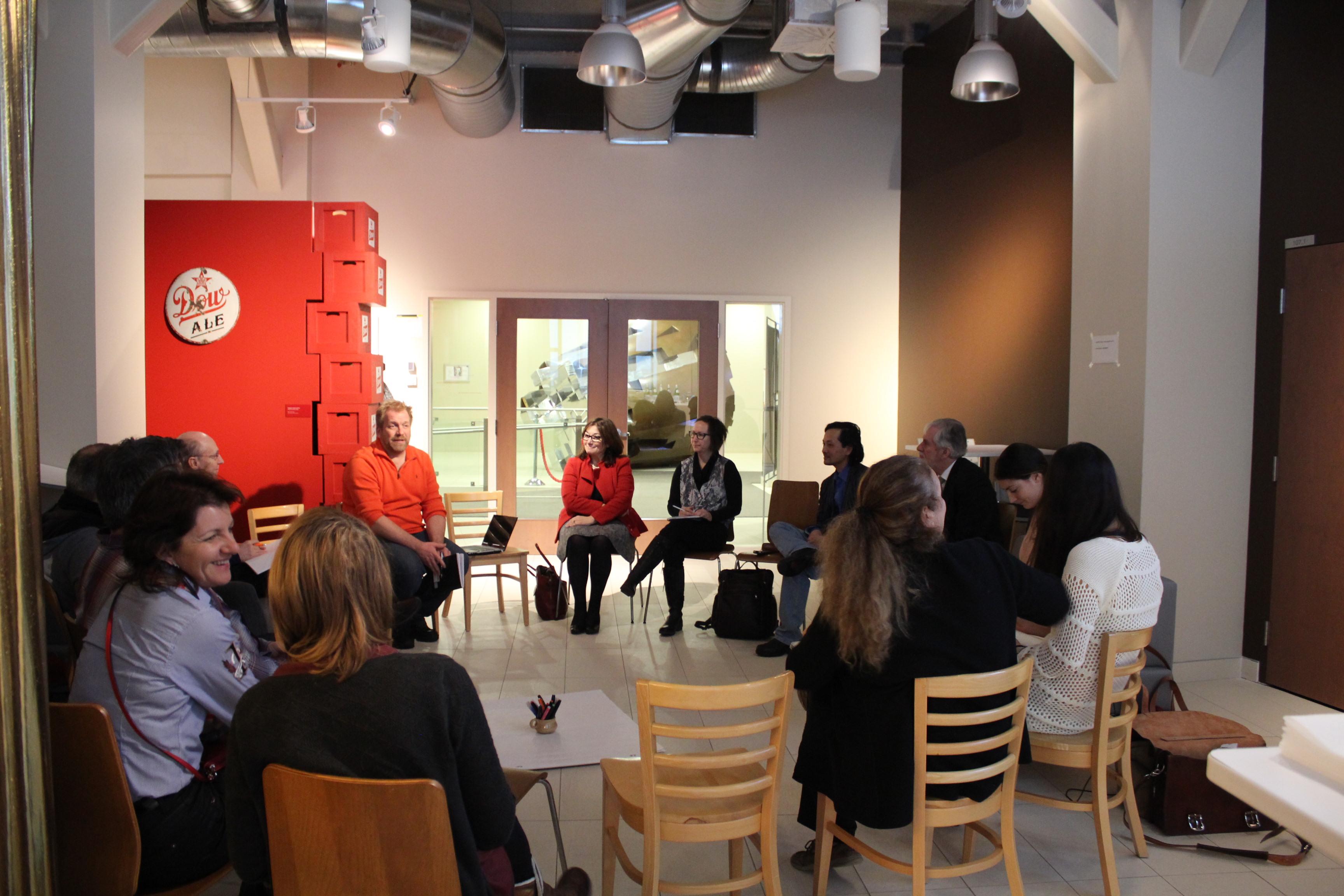 Première rencontre du réseau des labs vivants du Québec au Quartier de l'Innovation de Montréal