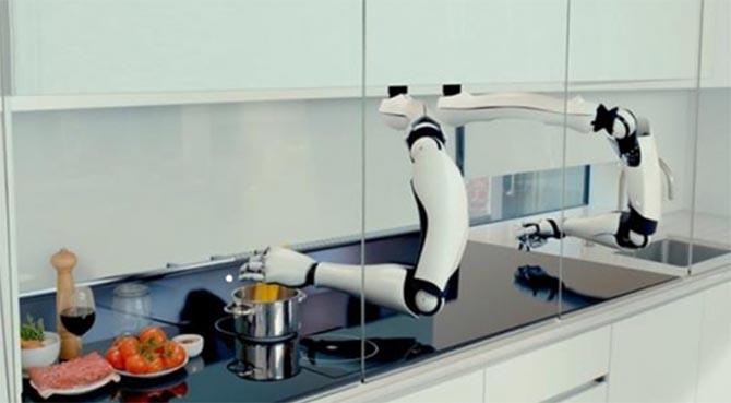 Moley, un robot qui cuisine pour vous plus de 2000 recettes!