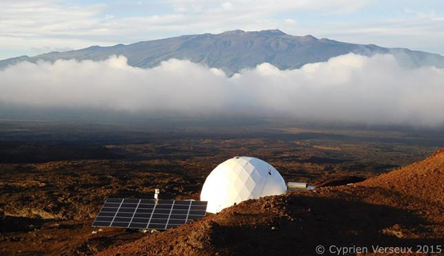 Simulation de vie sur Mars : la mission HI-SEAS IV est achevée.