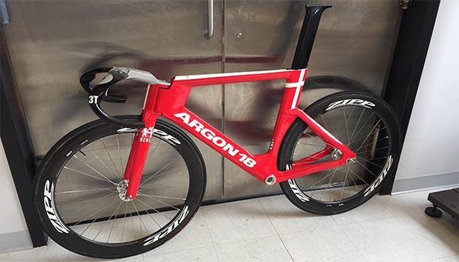 Fabrication additive d'une potence pour un vélo olympique d'Argon 18