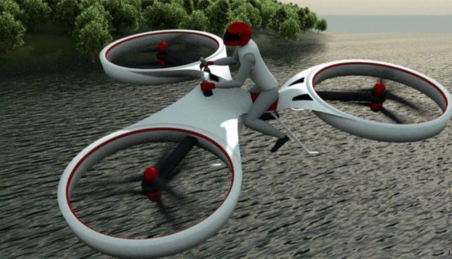 La moto volante Flike