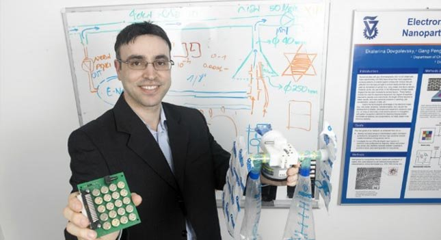 The work of Hossam Haick, professor at the Israel Institute of Technology,led to the SniffPhone