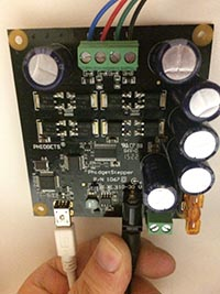 Picture of a control board