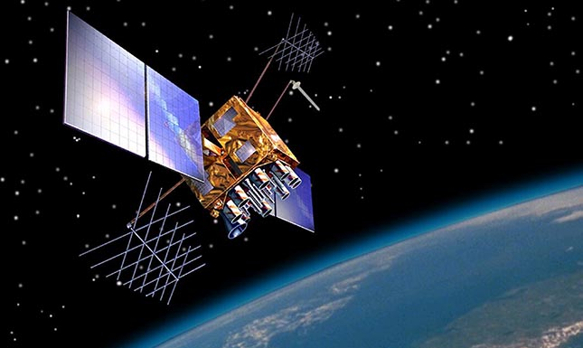 Satellite orbits vary over time