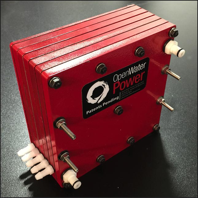 OpenWater Power's battery