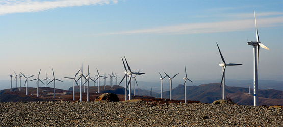 Pict. 1. Mulan wind farm is located approximately 170km north east of Harbin City in Heilongiang, China's northenmost province. The site was one of the first wind farms in China, raising the profile of renewable power and acting as a flagship for replication of the technology across the country. With 20 turbines, generating approximately 25 GWh annually, this project will support the Jaguar Land Rover carbon reduction project portfolio with over 50,000 tonnes of CO2 offsets. Source [Img 2].
