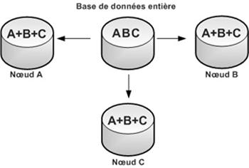 Figure 5: Bases de données distribuées répliquées. Source [Img5].