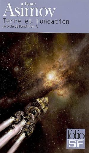 Gagnant du prix Locus, le tome 5 «Terre et Fondation de la série de science-fiction «Fondation» écrit par y Isaac Asimov, Source [Img3]