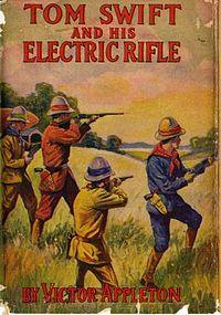 Le roman des aventures de Tom Swift présentant pour la première fois le Taser.