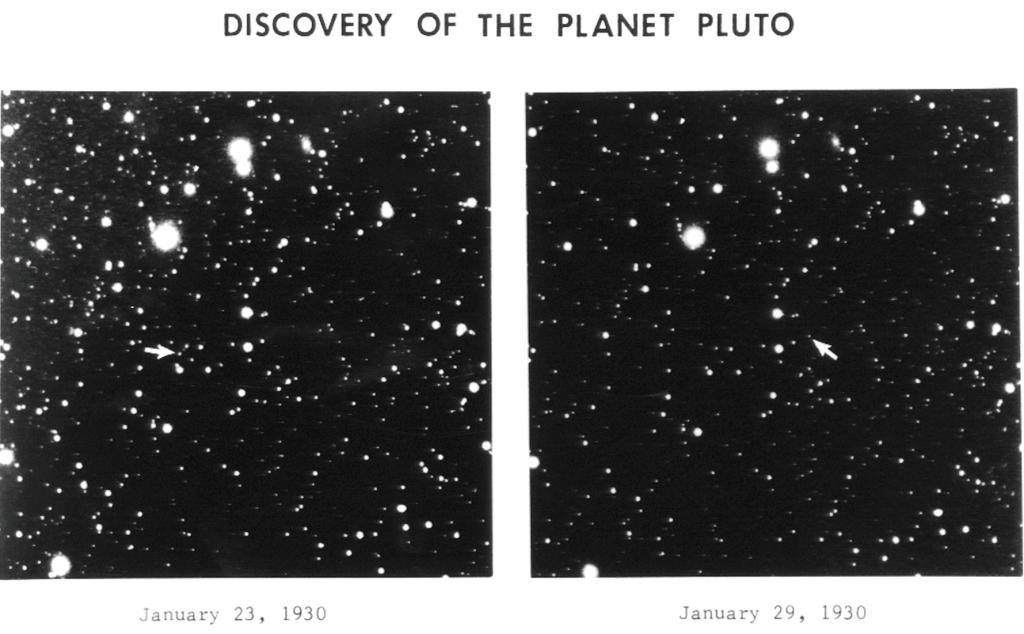 Découverte de Pluton en 1930