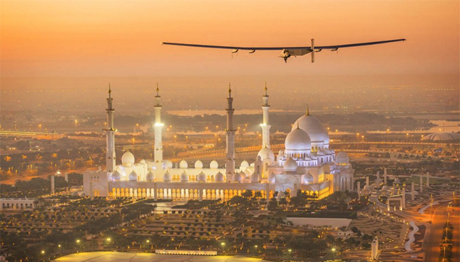 solar impulse 2 Abu