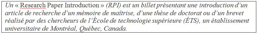RPI FR