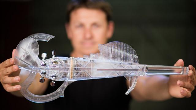 Violon impression 3D