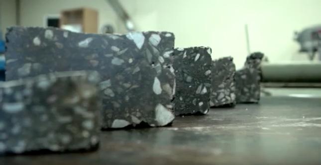 echantillon asphalte645