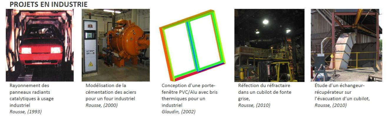 Projets industrie