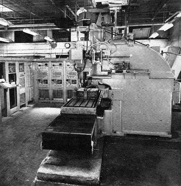 MIT first machine tool