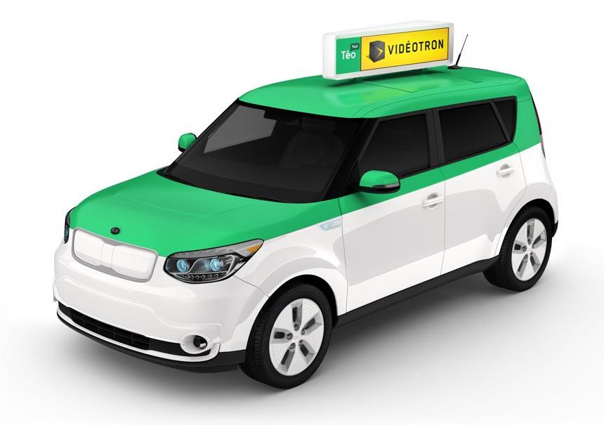 Téo Taxi le taxi électrique innovant à Montréal