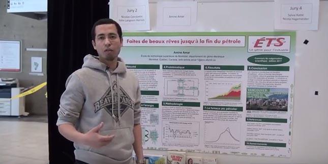 Image de Larbi Amine Amar, étudiant au baccalauréat au Département de génie électrique de l'École de technologie supérieure (ÉTS)