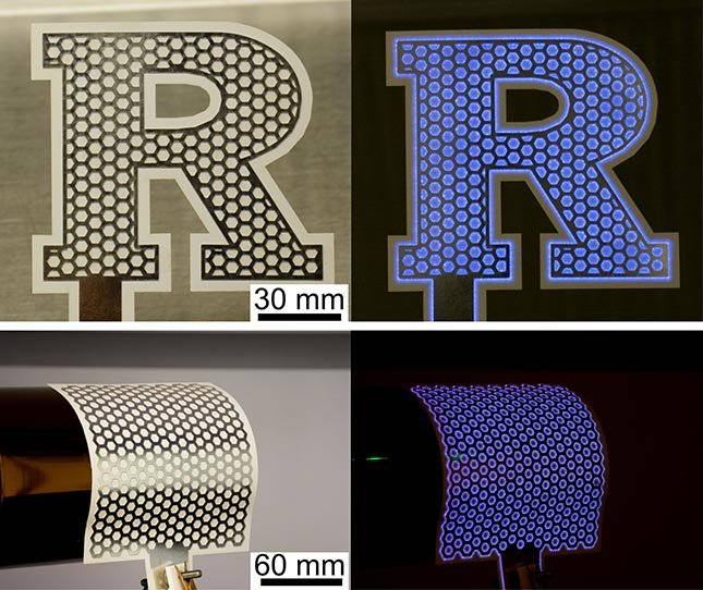 The paper-based device sanitizes surfaces thanks to plasma