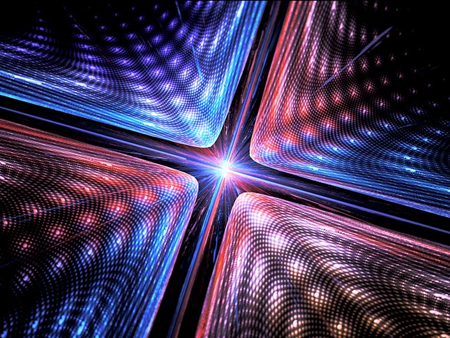 Light beams execute calculations in a new nanophotonic processor