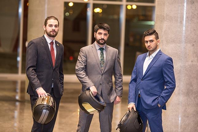 Les membres de RideMetry