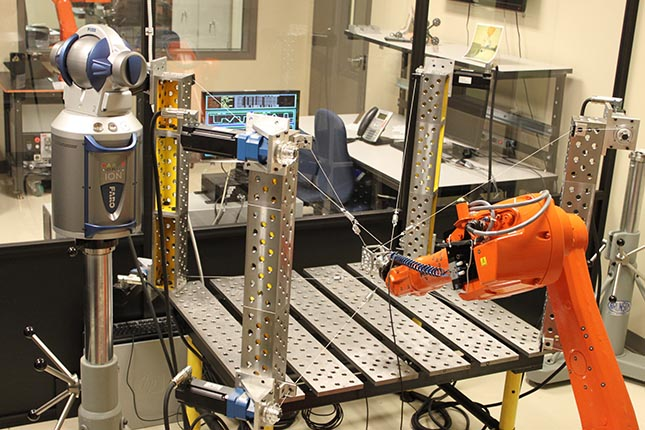A Cable robot can be used to improve accuracy in robots