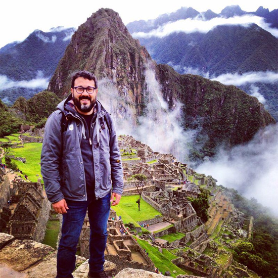 Hanen Garcia from ETS to the discovery of the forgotten sacred city of Machu Picchu, Peru.