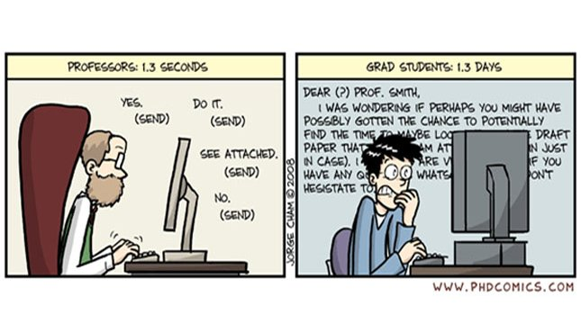 Phd comics writing your thesis memes