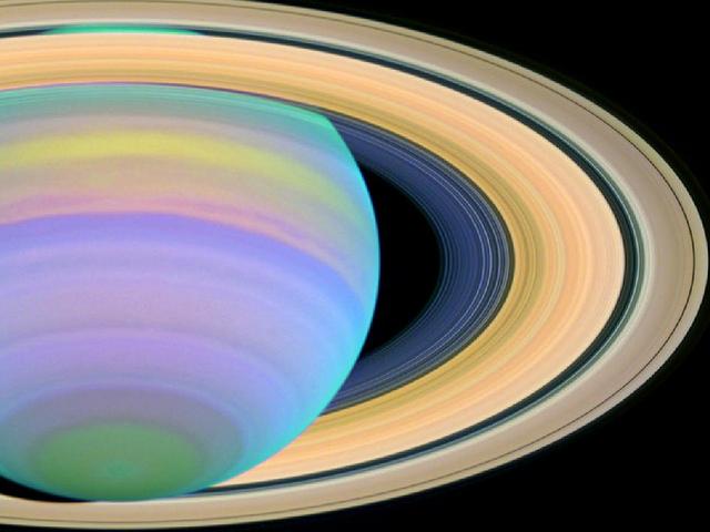 Saturne , NASA, Hubble, 2013