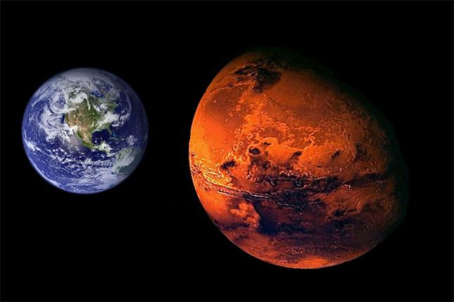 earth-mars