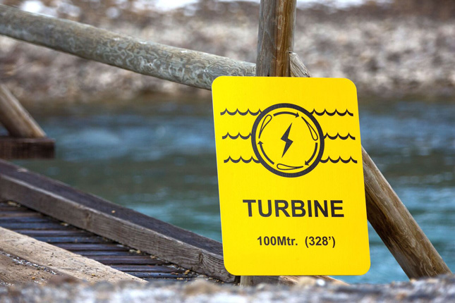river turbine