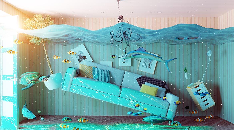 Maisons flottantes - Terminé les inondations