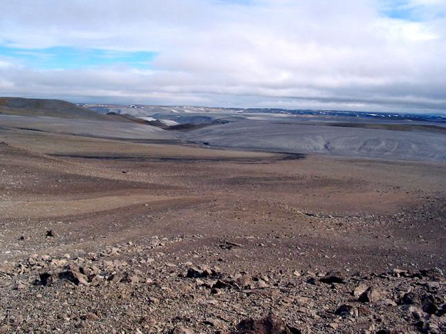 Le cratère Haughton, Serre Arthur Clarke