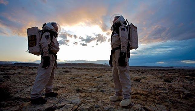 La serre Arthur Clarke est un lieu qui simule les conditions de Mars