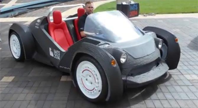 voiture en 3D