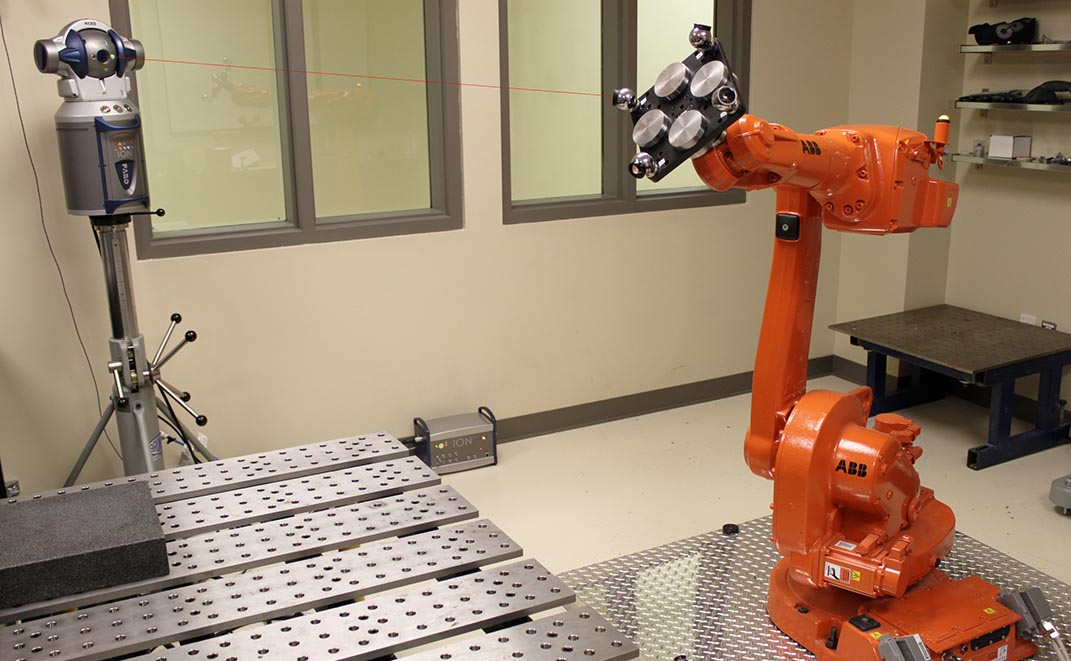 precision robotics is one of Ilian Bonev's research fields