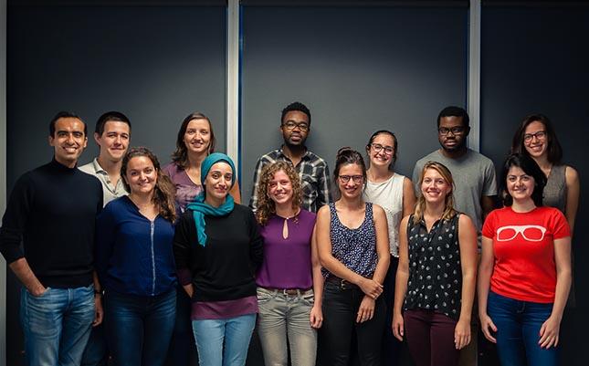 L'équipe du CAÉCÉTS qui a organisé le congrès de recherche des étudiants de l'ÉTS