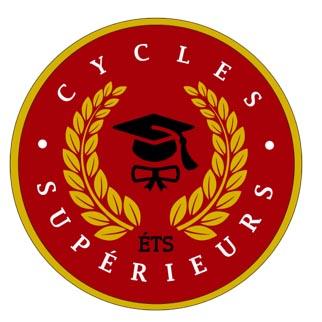 Le logo des cycles supérieurs de l'ÉTS utilisé pour le congrès de recherche des étudiants de l'ÉTS