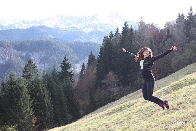 Laurie Marceau visited Germany during her internship at BMW.