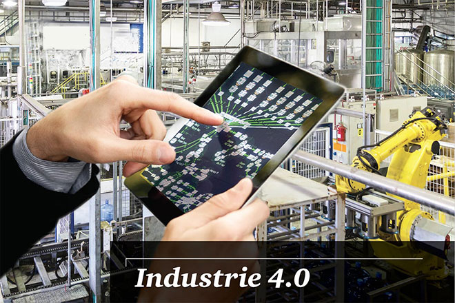 L'industrie 4.0 est apparu en Allemagne en 2010
