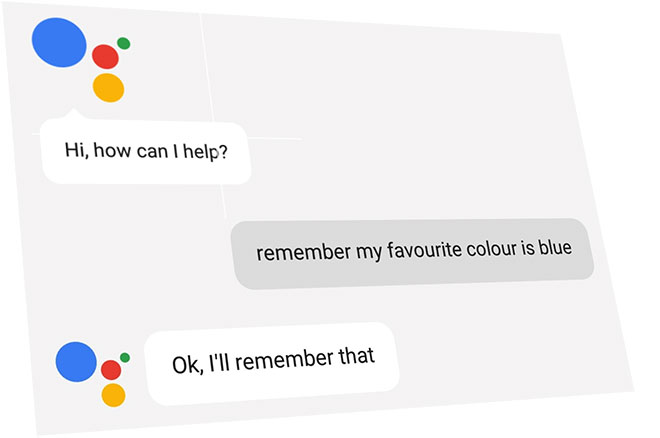 Speech recognition : Google assistant