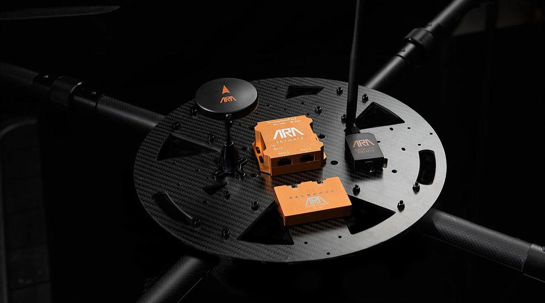 Le SKYMATE permet d'utiliser plus facilement les drones pour faire des inspections en hauteur