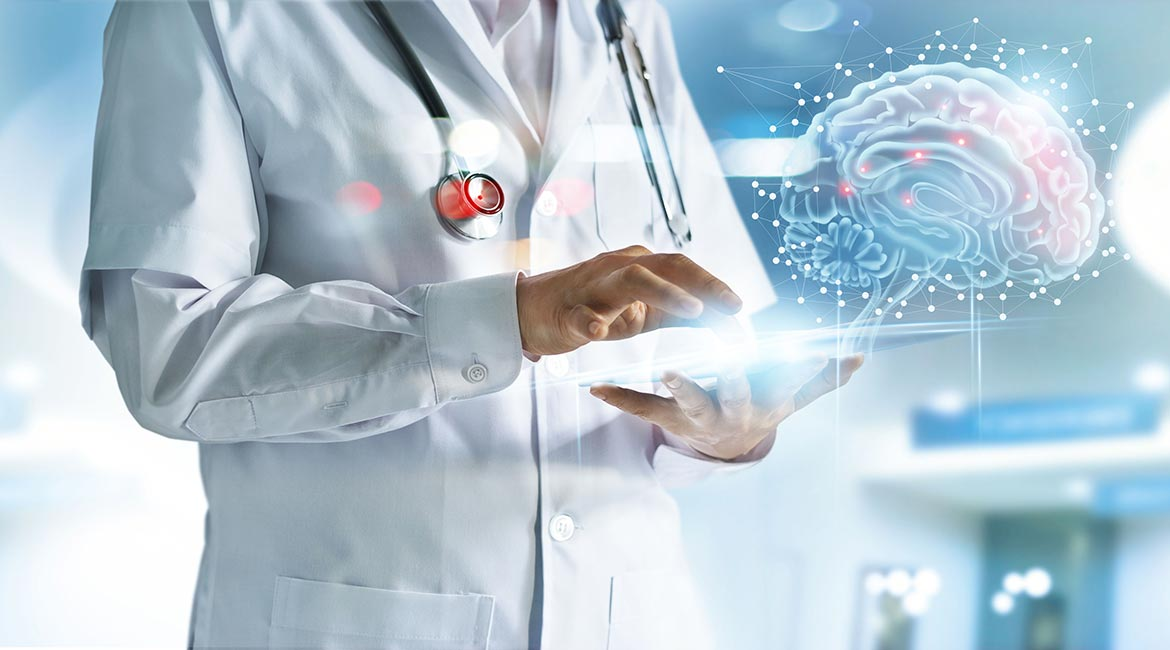 Engineers contribute to the development of healthcare tools.