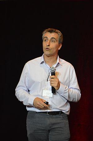 Yvan Petit est l'un des professeurs conférenciers de la Conférence et réseautage avec l'industrie —Technologies de la santé qui a eu lieu le 6 juin 2018