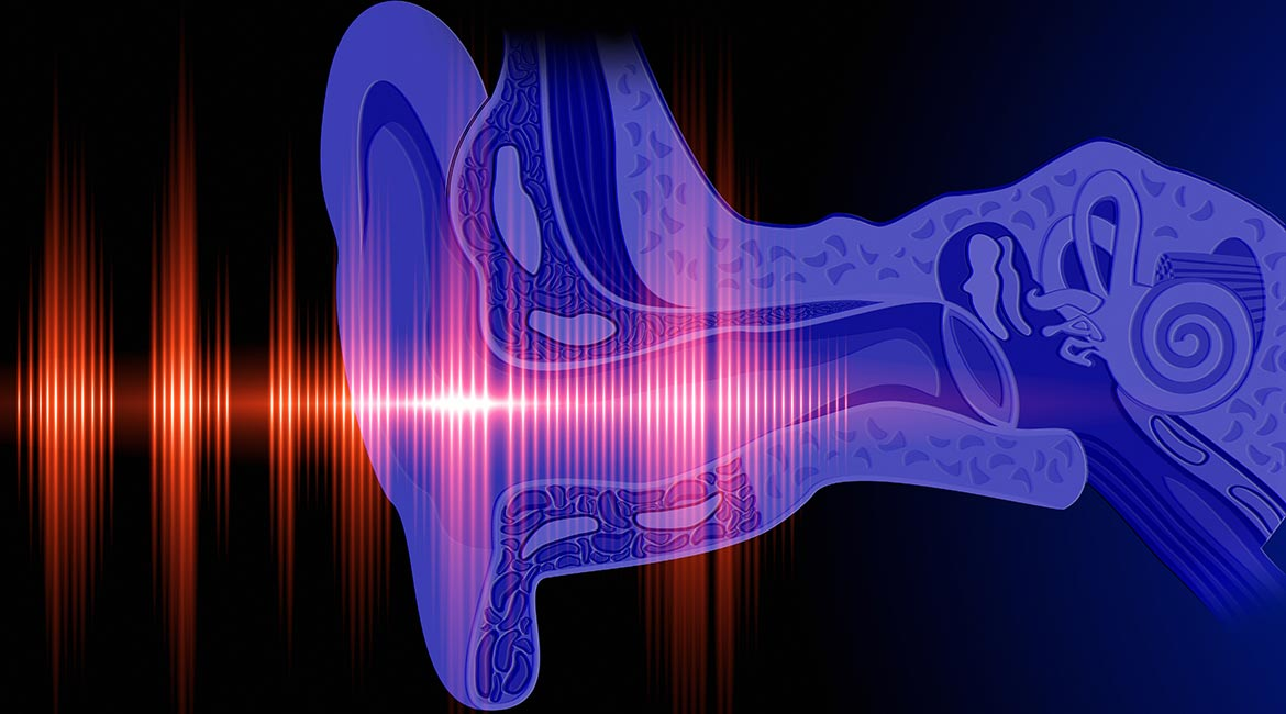 Otoacoustic emiisions emitted by the ear