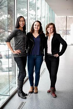 Caroline Lau, Clarisse Bascans et Sophie Jeandel, les fondatrices d'Avisio Qualité