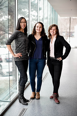 Caroline Lau, Clarisse Bascans and Sophie Jeandel, founders of Avisio Qualité