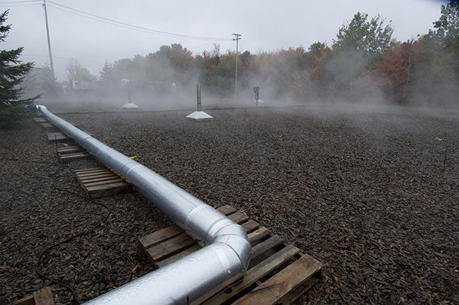 traitement et désodorisation des émissions atmosphériques industrielles par Sanimax