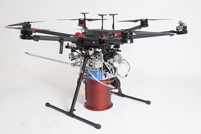 Drone-assisted characterization of ambient air quality by DroneXperts